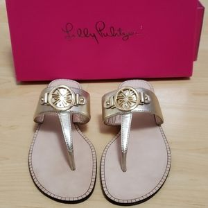 NWT Gold Lilly Pulitzer
